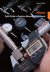 Quick Guide to Precision Measuring Instruments