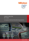 Digimatic Indicators for Peak-Value Hold, Calculation and Bore Gage Applications
