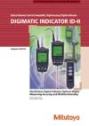 Digimatic Indicator ID-H