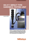 HH411 Impact Type Hardness Testing Unit