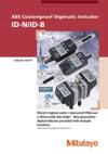 ABS Coolantproof Digimatic Indicator ID-N/ID-B