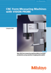 CNC Form Measuring Machines with VISION PROBE