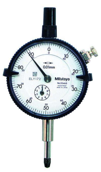 2046SB Mérőóra Tartomány: 10 mm; Skálaosztás: 0,01 mm