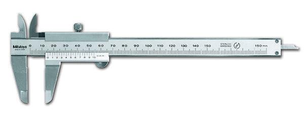 530-101 Nóniuszos tolómérő 0-150 mm