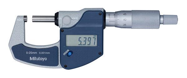 293-821-30 Digimatic mikrométer 0-25 mm